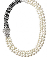Daisy Pearl Necklace **SOLD**