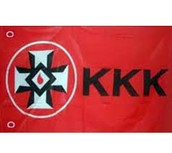 The flag of the Klan.
