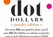 Did you rack up the Dot Dollars in June?