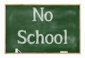 No School on Monday, October 12