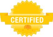 Get Certified . . .