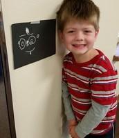 Dillon's Self Portrait!