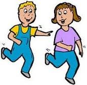 Me gustaba al pilla-pilla porque yo gusta correr