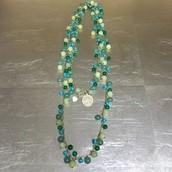 Copa Green bead lariart