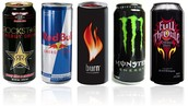 In energy drinks