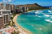 We are taking Alaska airlines to reach Honolulu