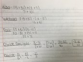 steps to adding, subtracting, multiplying, and dividing complex numbers