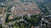 De binnenstad van Zwolle