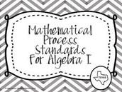 2015-2016 Algebra 1 TEKS in Action