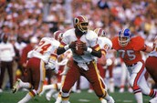 Super Bowl 22, The Washington Redskins vs The Denver Broncos
