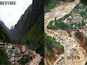 Before & After The Flood