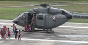 Helicopter Evacuvation