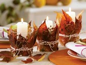 Leaf Candle Holder