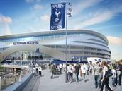 Het stadion van Tottenham Hotspur