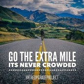"The ""Extra Mile""Challenge"