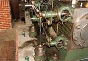 Corliss Motor Co Brown Gruppe Forge rom , maskinrom , kjeler , damp for maskinverksted og gassmotorer