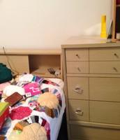 Blond bedroom set