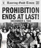 Men Celebrating the Repeal of the 18th Amendment
