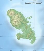 The island of Martinique