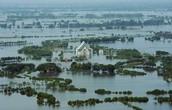 Hurricane in Thailand