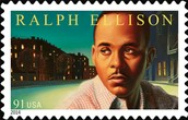 a stamp of Ralph Ellison