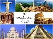Why are these great structures one of the seven wonders of the ancient world?