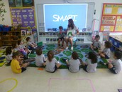 Visit from Ms. Leonora