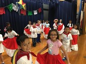 Our Panthers getting ready for the Cinco de Mayo celebration!