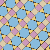Squares, Triangles and Heptagons