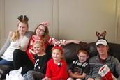Duke and Beulah's grandson's  grandchildren: Emily, McKenzie, Allie, Ella, Garrett,Austin