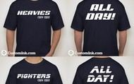 Fighters vs Heavy T-Shirts