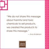 Why Ava Anderson Non Toxic?