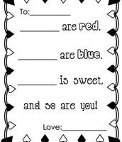 Fill in the blanks poem