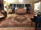 Traditional Living room carpets