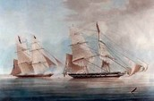 The British HMS Black Joke