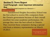 Lead Paragraph