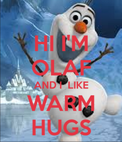 "Quote of the Week! "" I love my evaluate scores like Olaf loves hugs!"""
