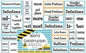 TIP #2 WORD WALL FOR PREFIXES, SUFFIXES AND ROOT WORDS