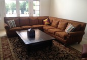 Custom 3 Piece Sectional Couch in Very Good Condition