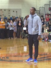 A Visit from J.R. Smith!