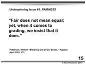 Fairness in Grading