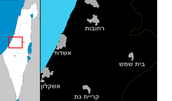 מפה של האזור