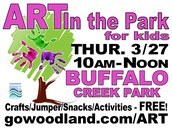 Crafts, Bounce House, Snacks, Activities all FREE -10am-Noon