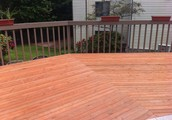 Deck repairs complete!