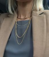 Drape Collar Necklace $40