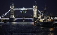 the olympic rings in london