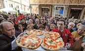 Eat pizza in Naples, Italy