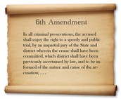 Definition of the Sixth Amendmant