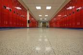 hallway of lockers