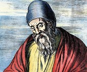 """Euclid the """"Father of Geometry"""" 300 BCE"""